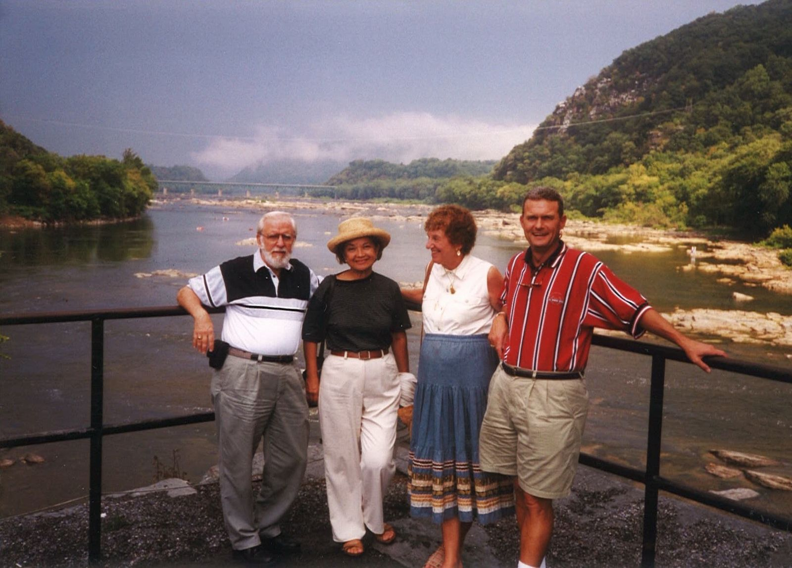 Ted Miller, Carmen Neuberger, Phyllis Mable, and Doug Lange