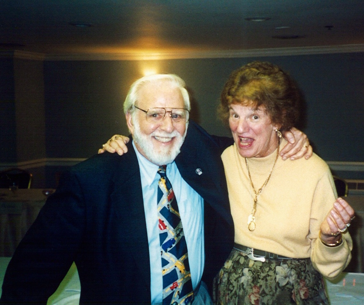 Ted Miller and Phyllis Mable, founding CAS members and past presidents