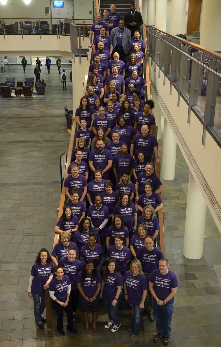 The SFA Student Affairs staff